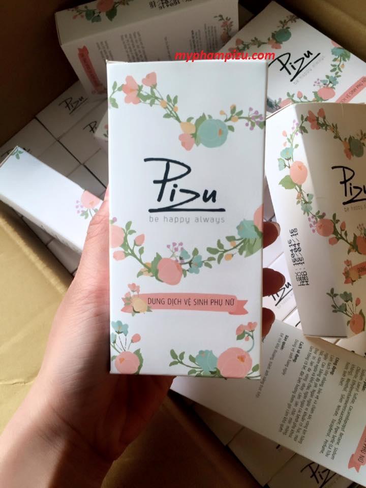 Dung dịch vệ sinh phụ nữ Pizu